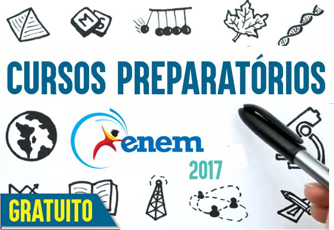 PACOTE DE Cursos Preparatórios para Enem 2017 - GRATUITO (GRATUITO)